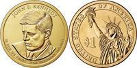 Монета США $1 Президенты (35) Джон Кеннеди.