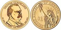 Монета США $1 Президенты (24) Гровер Кливленд