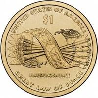"""1 доллар Сакагавеи """"Древо Жизни"""""""