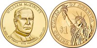 Монета США $1 Президенты (25) Уильям МакКинли