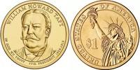 Монета США $1 Президенты (27) Уильям Говард Тафт