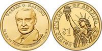 Монета США $1 Президенты (29) Уоррен Хардинг