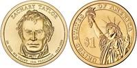 Монета США $1 Президенты (12) Закари Тейлор