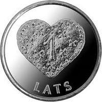 1 лат Пряничное сердце