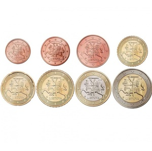 Набор монет ЕВРО Литва