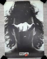 "Плакат ""Heavy Metal. Буданов"" 1988 г."