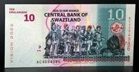 Бона Свазиленд 10 эмалангени 2015 года пресс,UNC