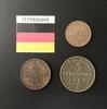 Набор монет Германия 1868г. , 1870 г.