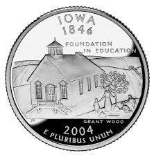 25 центов Айова