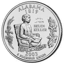 25 центов Алабама
