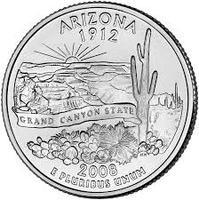 25 центов Аризона
