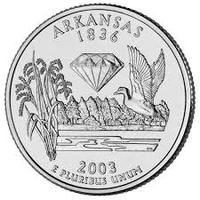 25 центов Арканзас