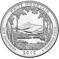 25 центов Белые Горы