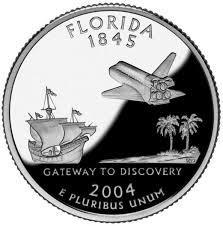 25 центов Флорида