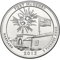 25 центов Форт МакГенри