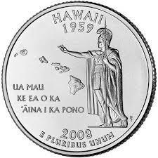 25 центов Гавайи