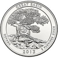25 центов Грейт-Бейсин