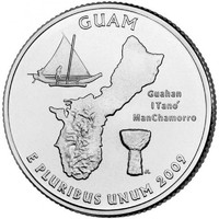 25 центов Гуам
