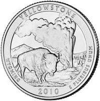 25 центов Йеллоустоун