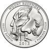 25 центов Маунт Рашмор