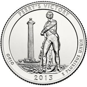 25 центов Мемориал мира Perry's Victory