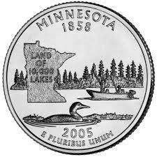 25 центов Миннесота