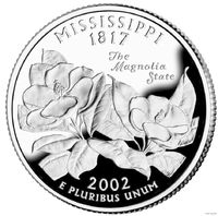 25 центов Миссисипи