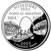 25 центов Миссури