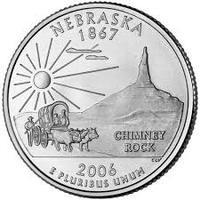 25 центов Небраска