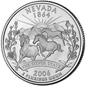25 центов Невада