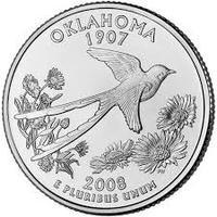 25 центов Оклахома