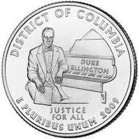25 центов Округ Колумбия