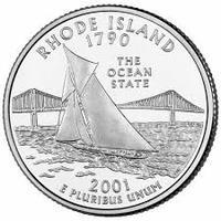25 центов Род-Айленд