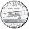 25 центов Северная Каролина