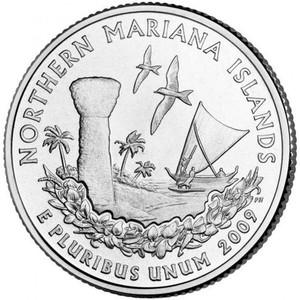 25 центов Северные Марианские острова