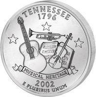 25 центов Теннесси
