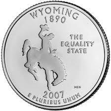 25 центов Вайоминг