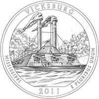 25 центов Виксбург