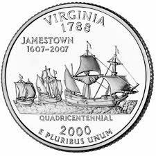 25 центов Вирджиния