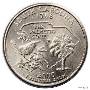 25 центов Южная Каролина