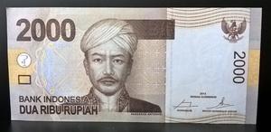 Бона Индонезия 2000 рупий 2014 ПРЕСС,UNC