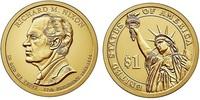 Монета США $1 Президенты (37) Ричард Никсон.
