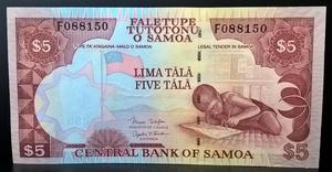 Бона Самоа 5 тала 2005 год пресс,UNC