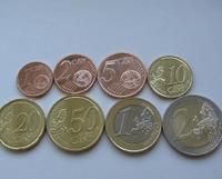 Набор монет ЕВРО Латвия
