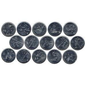 "Набор монет Канады ""Олимпиада в Ванкувере"""