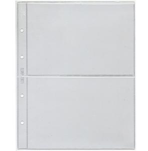 Лист вертикальный для бон (2 боны), формат Numis