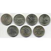 Набор монет 55 лет Победы Города-герои (2 рубля) 7 монет