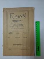 "Книга ""Fusion"" 1927 г Тираж 1000"