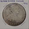 Монета Испания Боливия 8 реалов 1808 Чарльз Карл IIII серебро (AG)