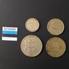 Набор монет Эстония 1931г. 1934-1936 г.